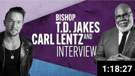 TD Jakes and Carl Lentz Interview